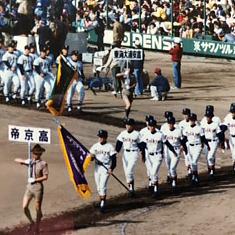甲子園高校野球:入場